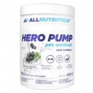 AllNutrition Hero Pump pre workout New formula 420 грамм